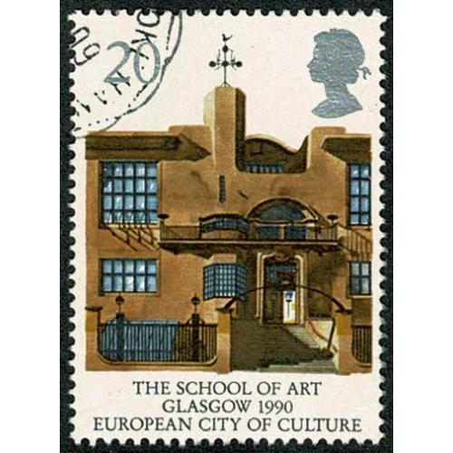 1990 Europa (Glasgow City of Culture). 20p Very Fine Used single. SG 1494